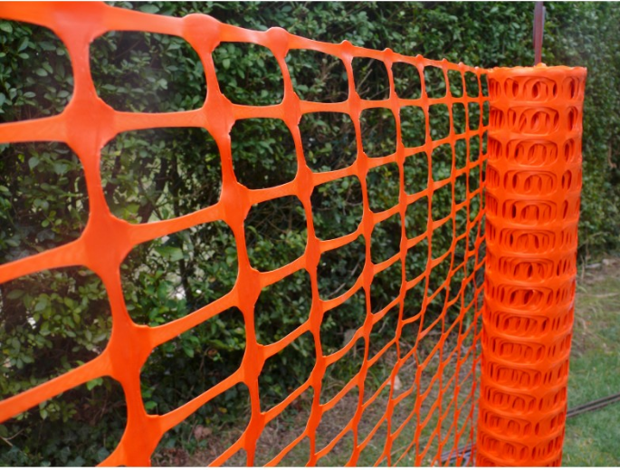 HDPE/ POLY Plastic Fat wire Mesh/Plastic Plain Netting For Poultry