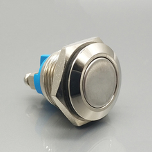 Flat actuator 250v push to on off switch wholesale pushbutton switch