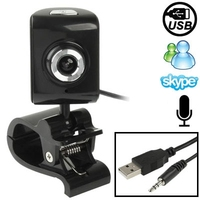 Hot selling 5.0 Mega Pixels USB 2.0 Driverless PC Camera / Webcam with Clip + MIC