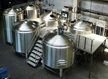 fine polishing home beer brewery equipment , argon arc welding 500l 1000l brewing equipment