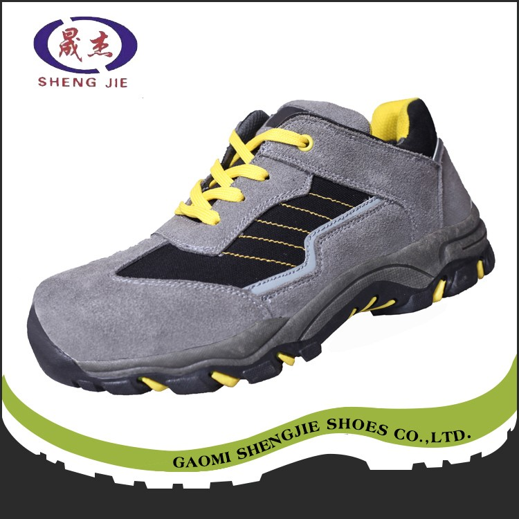 excellent quality Rubber outsole work safety boots