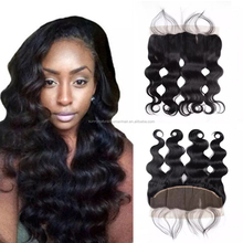 Natural Black Lace Front Closure 13*4 Body Wave Lace Frontal Free Part Natural Hairline With Baby Hair Lace Frontal