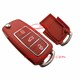 Waterproof 3 Button VW Style Passat B5 Car Key Shell For Remote Key Fob Colorful