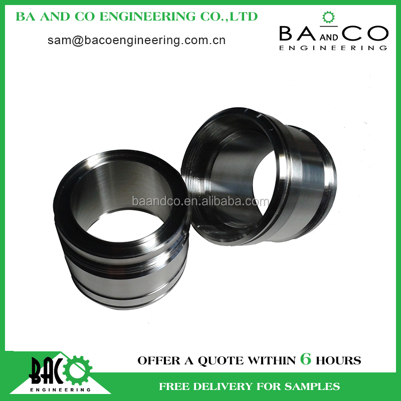 Fast delivery precision custom aluminum motorcycle cnc machining parts