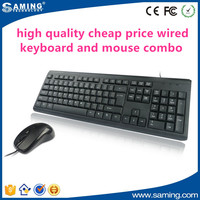very cheap and easy to use wired usb desktop keyboard mouse