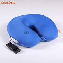 Use as gift or home textile Neck Cushion, have massage function microbeads u shape pillow