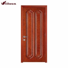 House main gate design single leaf double swing door used in residential apartment