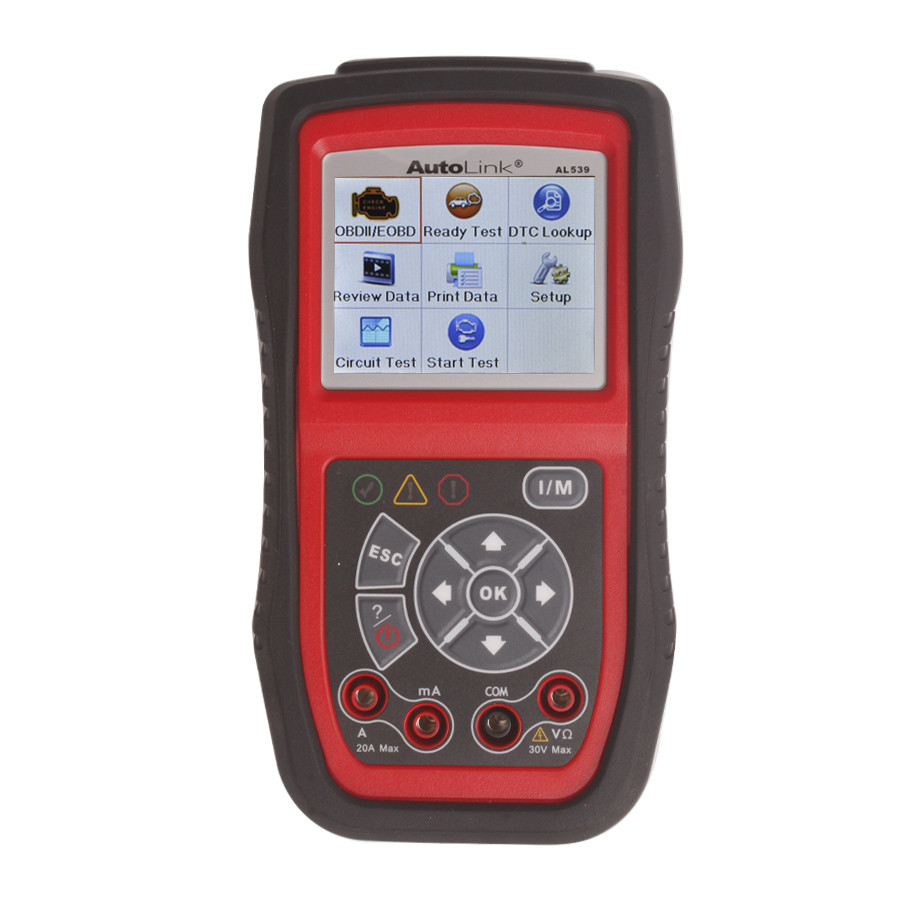 Original AUTEL AL539 OBDII And Electrical Test Tool With AVO Meter advanced AL539 Car Scan Tool