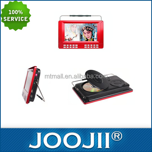 Hot sell fashionable 7 inch-10 inch tablet LCD TV hot sale digital TV with DVD