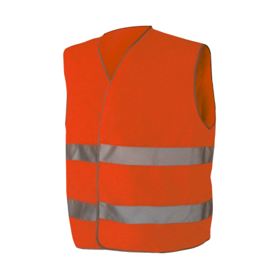 medics rescue vest high-visibility sleeveless vest with front zipper and pockets ,EN471,CLASS 2