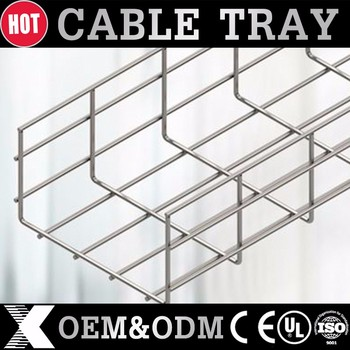 Electrical Wire Mesh Cable Tray Fixings Manufacturer