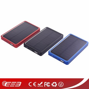 !!!Hot selling 4000mah solar phone chargers