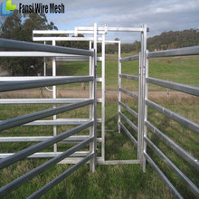 Safety Hot Dip Galvanized Sheet Steel Farm Man Gates For Sale