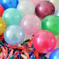 new rubber Balloon latex material LED lighting balloon shining for advertising