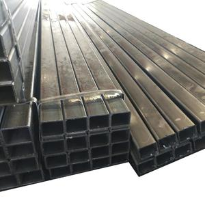 25X50mm rectangular hollow section galvanized square steel pipe/tube