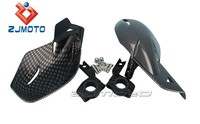 "ZJ-06C Carbon ZJMOTO Motorcycle DIRT PIT ATV QUAD BIKE Motocross Hand Guards Wind Protector hand shields for 7/8"" handlebars"