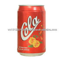 Vietnam High-Quality Cola Soft Drink 330ml FMCG products