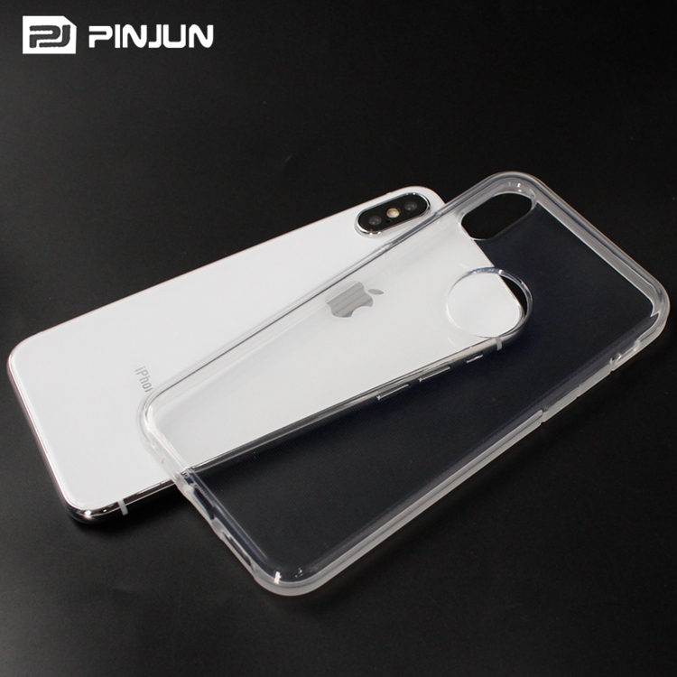 Crystal clear 2mm flexible tpu gel transparent case for huawei p9 lite mini / y6 pro 2017 case soft tpu
