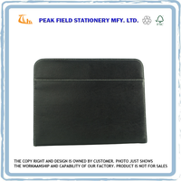 Office Supplies Black Color File Organizer Bag
