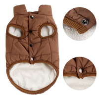 Dog & puppy clothes, Winter Warm Wholesale Pet Clothes Vest Jacket For Small Medium Large Dogs