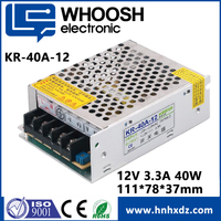 Electrical Equipment 40W Power Supply 12v