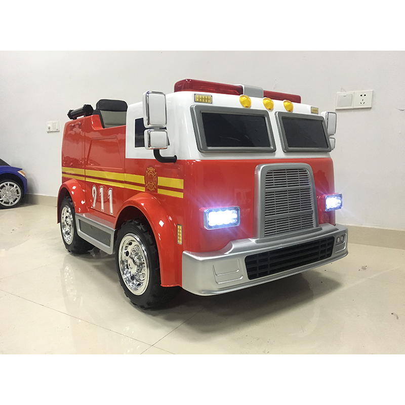 2018 hot choice electric toy car high quality kids electric cars 12V kids electric toy car to drive fire truck toy