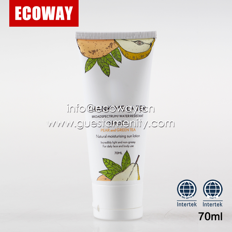 oem hotel cosmetics sets massage cream tube empty cream tube