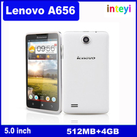 100% Original 5.0inch Lenovo A656 4GB Android 4.2 Smart Phone MTK6589 Quad Core 1.2GHz 512MB RAM Dual SIM GPS Cheap Mobile Phone