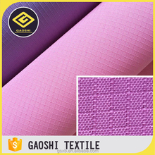 China Goods Wholesale 100% Polyester Woven Pu Coated 600D Waterproof Ripstop Oxford cloth For Car Toolkits