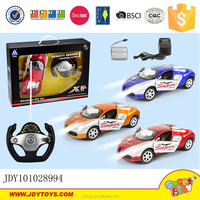 Super racing car 1:16 remote control car 4 channel RC car with LED head light and charger