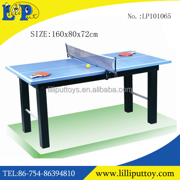 Small Size Table Tennis Table Play Set For Children