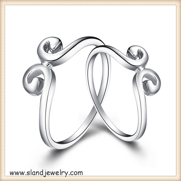Delicate designs!!The newest monkey king's sterling silver crown ring - boys s925 pure silver rings set made in China