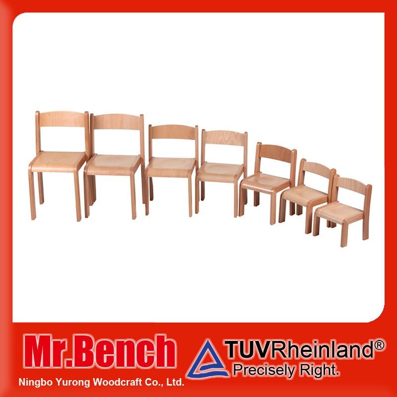 High Quality baby chair furniture, kids wooden beach chair for preschool furniture
