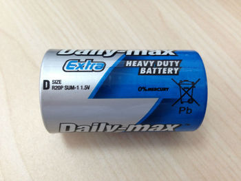 R20P D Size Extra Heavy Duty Zinc Carbon Battery