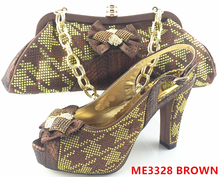 african lady bags and shoes italian travel matching shoes and bag set for women