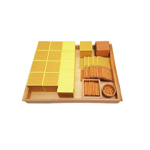 Wholesale montessori materials for preschool 45 golden bead units