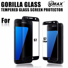 Cheap Price 3D Curved Full Cover NIPPA glue Electroplating Corning Gorilla glass screen protector for Samsung S7 edge