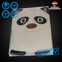 BS8433:2004 panda shape wheat heat bag
