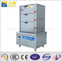 Commercial Induction restaurant industrial food steamer