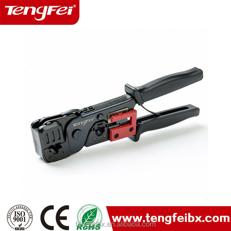 RJ45 connector ratchet terminal Crimping Tool