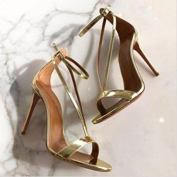 LM4593Q big size women sandals fashion high-heel sandal shoes sexy sandals