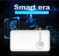 Christmas Gift!!! mini home theater projector,portable intelligent LED projector,mobile smart mini projector mobile phone