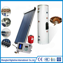 Factory directly sell Balcony Split Solar Water Heater With CE SABS SGS Certificate Pressurized Heating System