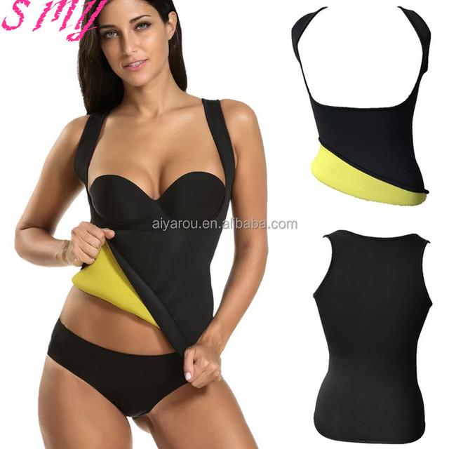 Slimming women ultra sweat body shaper Burn fat tank top shapewear vest