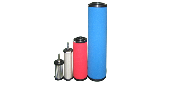 Air compressor spare parts Micron carbon steel Precision pleated cartridge filter