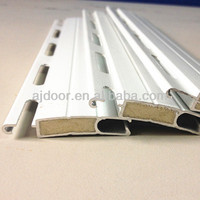 stronger extruded aluminum roller shutter Insulated PU Foaming slat