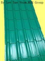 corrugated steel sheet as roof in Indonesia