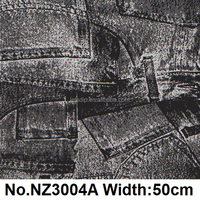 Water transfer film jeans pattern&50cm new design hydrodipping film &hydrographics film,No.NZ3004A