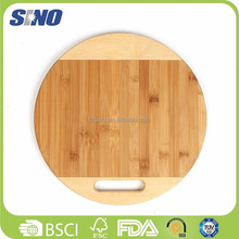Wholesale Bamboo Eco-friendly Handle Safe Pine Cutting Board