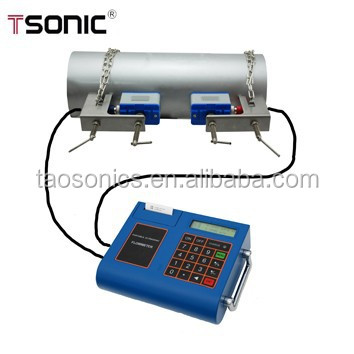 Cheap portable ultrasonic flow meter water made manufacturer